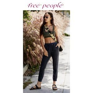 Free People Movement Work It Out Jogger in Black
